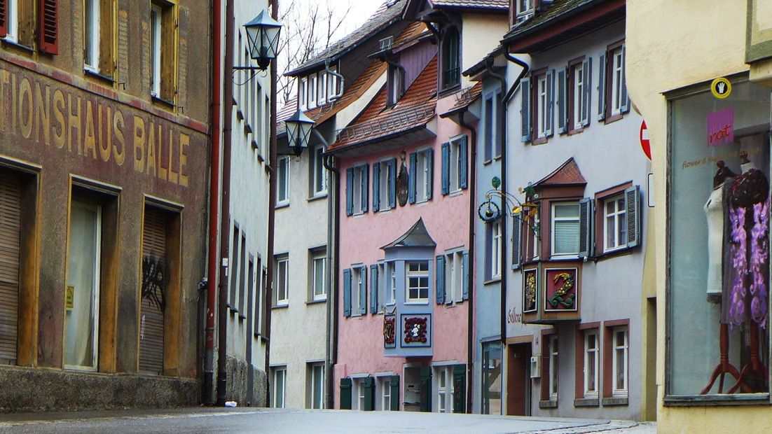 Historisches Rottweil, Flöttlinstorstraße, Stadtführung