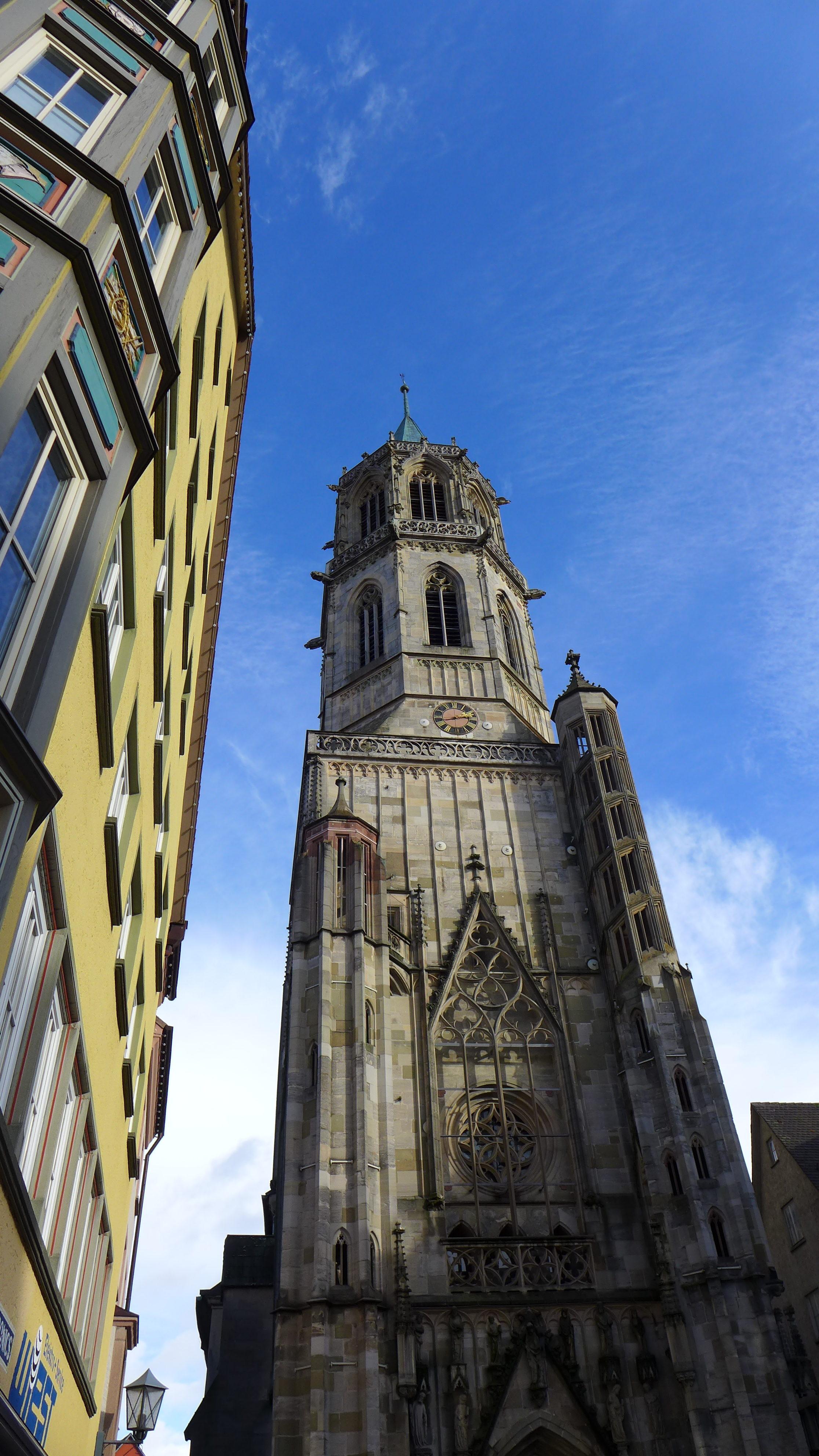 Kapellenkirche, Gotik, historisches Rottweil